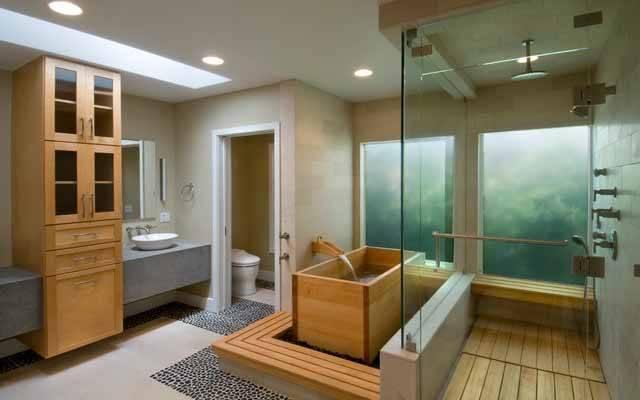 13 Decor Ideas Nature Themed Bathroom Tips