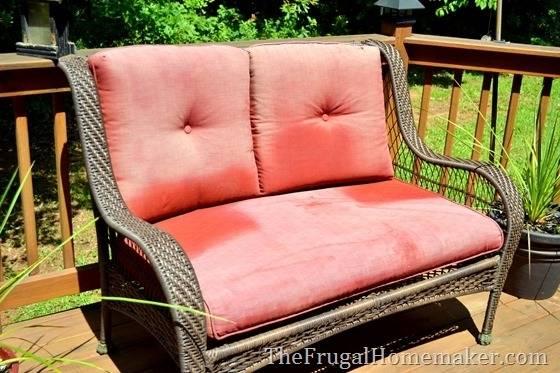 repaint patio furniture