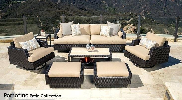 portofino patio furniture rst portofino sling sectional space grey rst  brands portofino covers portofino patio furniture