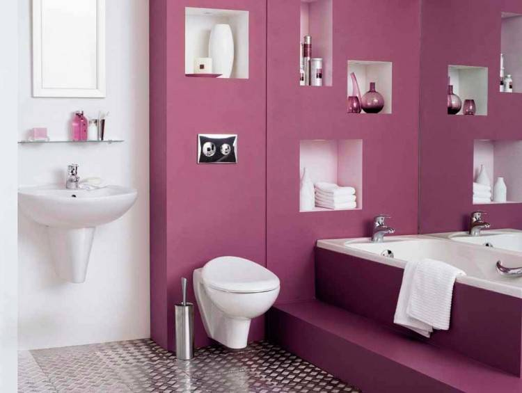how to paint your bathroom