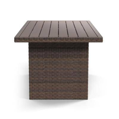Signature Design by Ashley SalcedaOutdoor Sectional with Table & Lounge  Chairs