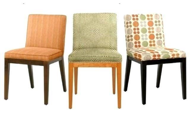 orange kitchen chair cushions