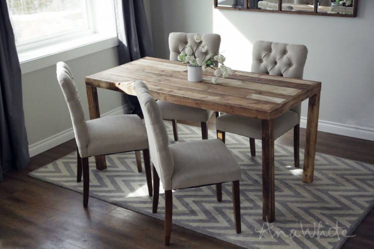 build your own dining table