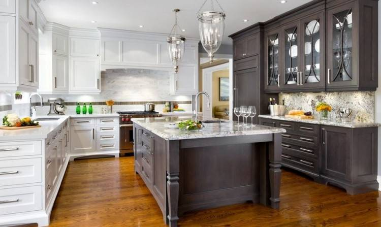 two tone kitchen cabinet ideas design images revamp your with these  gorgeous cabinets