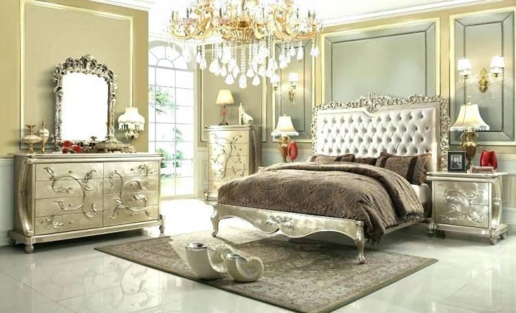 beautiful bedroom decor black dresser silver mirror candles white romantic  glam furniture