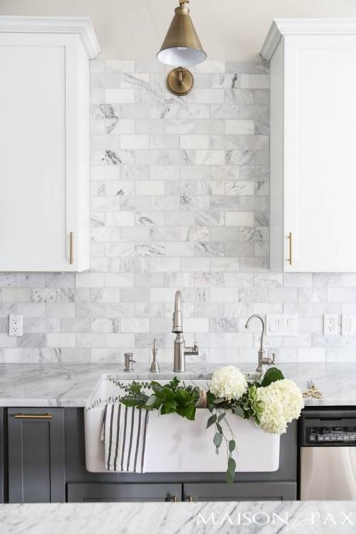 White Kitchen Backsplash Designs Grey And With Regard To The House Home
