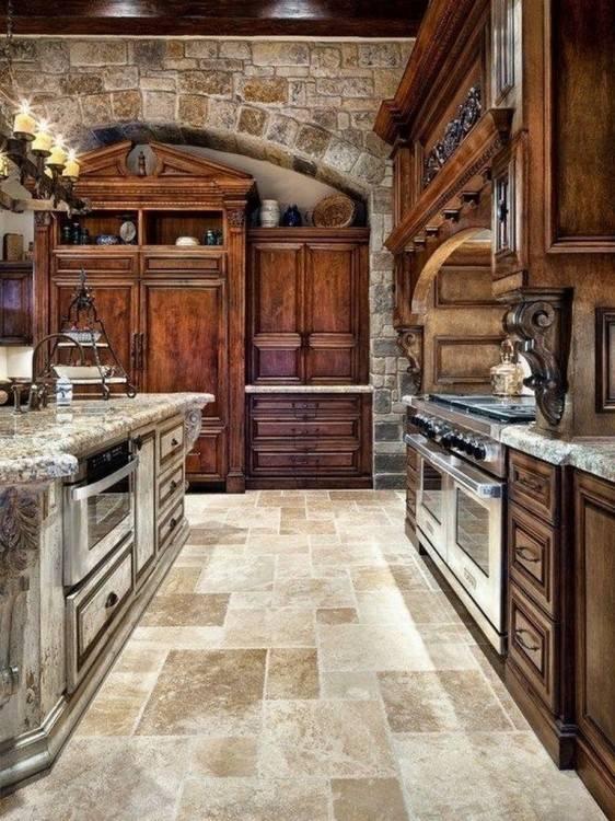 Back To 25  Elegant Tuscan Kitchen Ideas