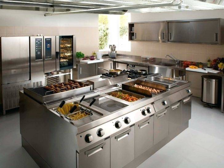 Restaurant Kitchen Design Ideas Simple On For Small Layout Plans