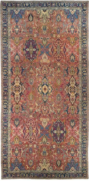 5x3 Gonbad Indian Tabriz Persian rug; medium size silk Persian Rugs genuine  handmade
