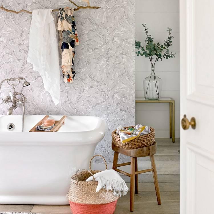 wallpaper ideas for bathroom gorgeous bathroom wallpaper design ideas