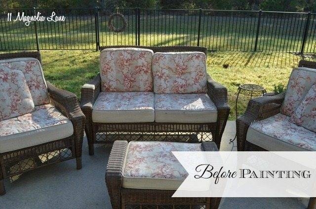 painting patio cushions spray paint patio furniture outdoor furniture spray  paint g s can you spray paint
